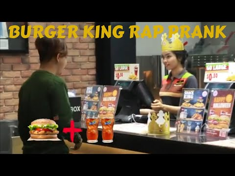 SANTO - How to order Burger King like a boss ( CAMBODIA VERSION)