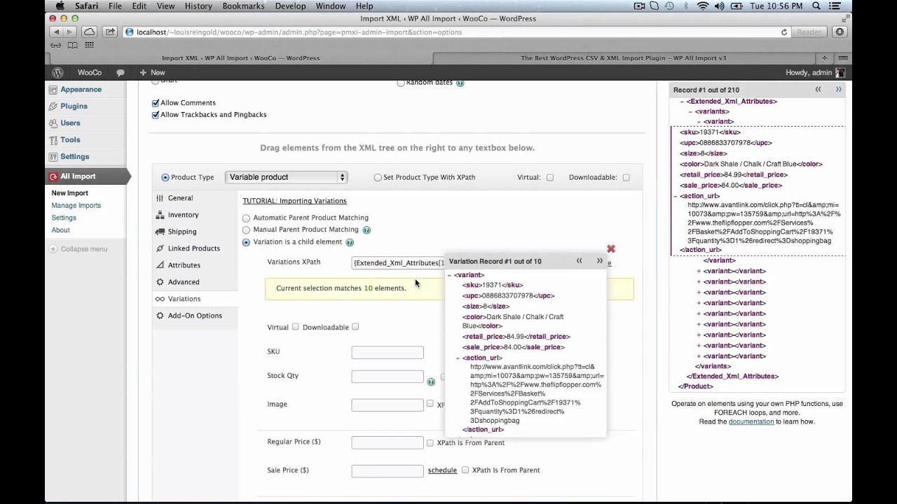 How To Import XML & CSV to WooCommerce