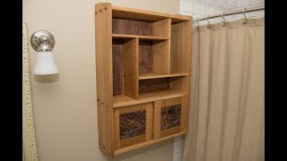 BATHROOM CABINET BUILD! ALL JOINERY NO NAILS!