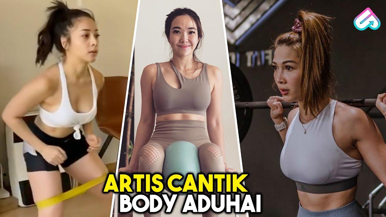 BIKIN PRIA PANAS DINGIN LIATNYA! 10 Artis Indonesia Bertubuh Montok Saat Nge-GYM | BODY GOALS BANGET