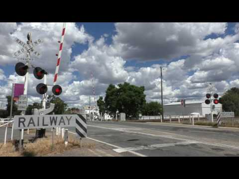 Level Crossing, Benalla VIC, Australia.