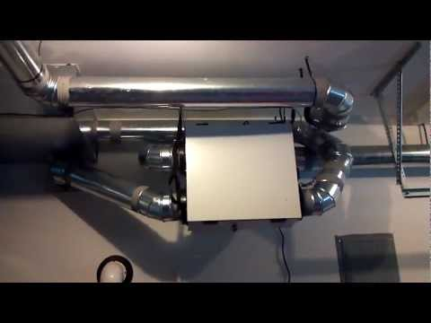 Honeywell TrueFresh HRV with Variable Speed Micro Balancing