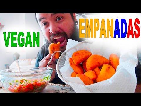 Making Vegan Colombian Empanadas