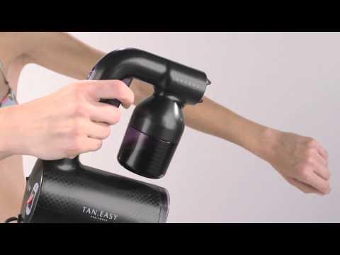 Mine Tan | How To Use The Spray Gun System