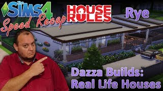 "Sims4 House Rules TV Builds: 3: ""Rye"""