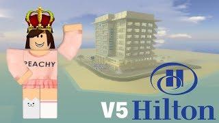Hilton Hotel V5!! | Tour | Roblox