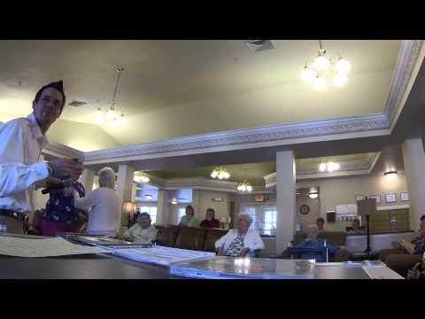 Assisted Living Karaoke - Brown Eyed Girl - McKinney House 1 30 15