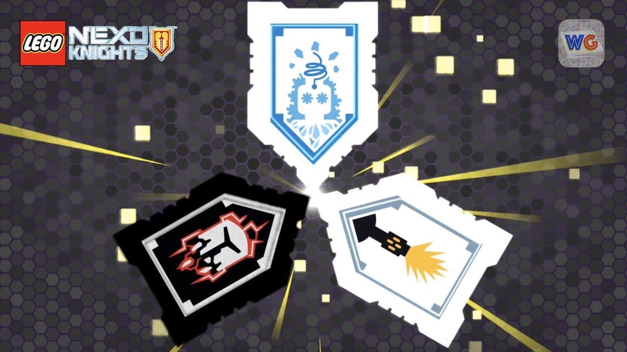 Nexo Knight Evil Triple Shield