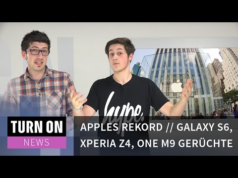 TURN ON News: Smartphone-Gerüchte & Gewinnrekord bei Apple