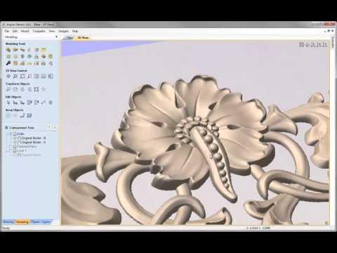 Vectric - Flourish Assembly Dividing Models