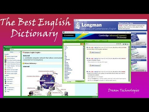 [Must Watch] Three Excellent English Dictionaries for Second Language Learners