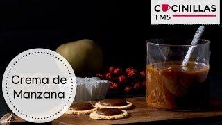 Thermomix y de crema castañas manzana