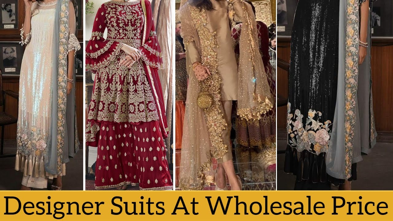 Latest Designer Suits Gown At Wholesale Price Boutique Style Party Wear Ladies Suits Surat Youtube