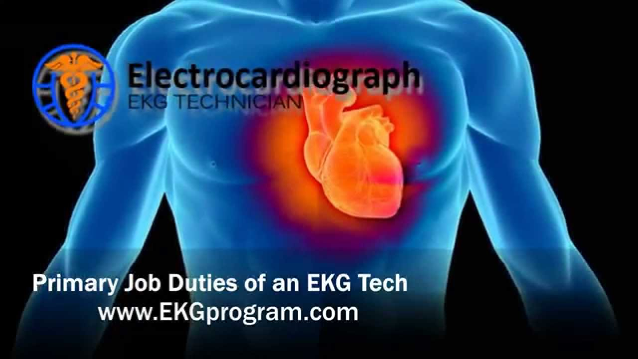Primary Job Duties Of An EKG Tech