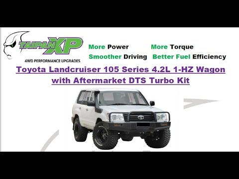TaipanXP 3inch Sportz System to suit 105 Series Landcruiser 4 2L 1HZ with  DTS Turbo