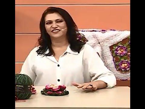 Flor Maria José #CrocheTerapia