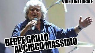 Beppe Grillo al Circo Massimo - Comizio per il Movimento 5 Stelle a Roma - 10 ottobre 2014