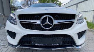 review Mercedes-Benz GLE Coupe 350d, 2015 | 4K Walkthrough.  Обзор Мерседес Бенц ГЛЕ Купе.
