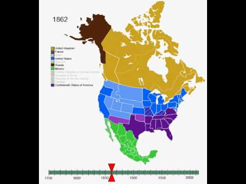 Territorial Expansion of North America History