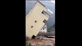 Video Omg! Buildings crumbles like pack of cards in flood-hit Sierra Leone download MP3, 3GP, MP4, WEBM, AVI, FLV Agustus 2017