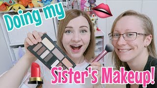 Doing My Sister's Makeup! [Live Stream]