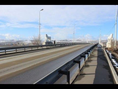 НОВОСТИ ТУВЫ | НОВЫЙ ВЕК - Реконструкция Коммунального моста в Кызыле - 13 10 2017
