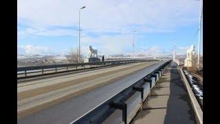 НОВОСТИ ТУВЫ НОВЫЙ ВЕК Реконструкция Коммунального моста в Кызыле 13 10 2017