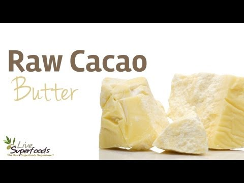 All About Raw Organic Cacao Butter - LiveSuperFoods.com