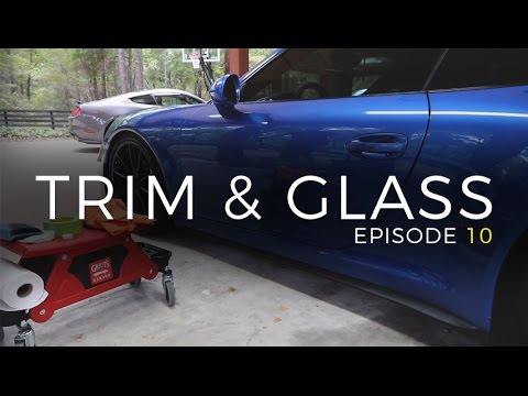 2017 Version of Dialing In My GT3: E10 - Trim and Glass
