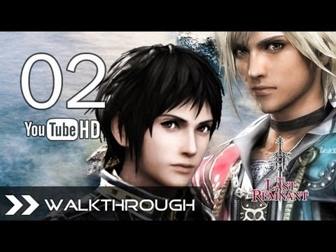 The Last Remnant Walkthrough - Gameplay Part 2 (Gaslin Caves) HD 1080p No Commentary