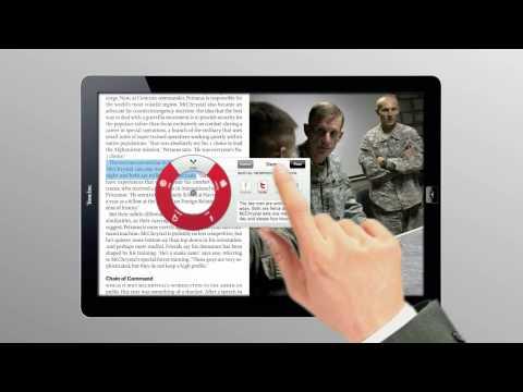 Time Magazine Tablet Demo