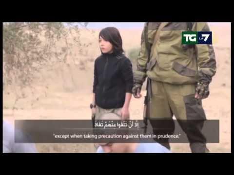 Tg La7 - Video shock: il bambino killer dell'Isis