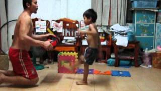 Buakaw Junior ( 5 years old ) We love Buakaw