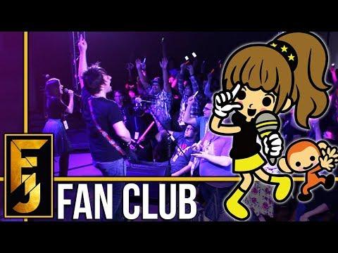 "Rhythm Heaven - ""Fan Club"" Metal Guitar Cover (feat. Adriana Figueroa)    FamilyJules"