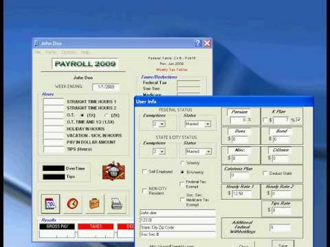 Breaktru Payroll Software withholding tax calculator - http://payroll.breaktru.com