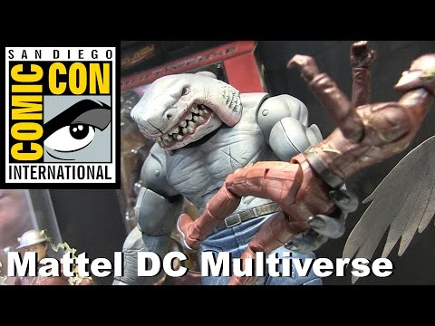 DC Multiverse Mattel Action Figure Display at San Diego Comic Con 2016