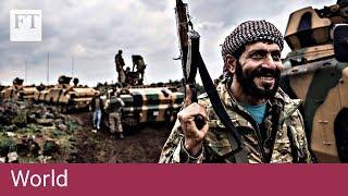 Turkey invades Kurdish enclave in Syria