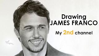 Drawing JAMES FRANCO (Realistic Portrait)