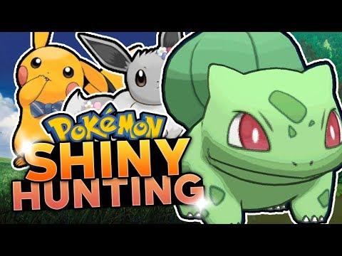 LIVE SHINY BULBASAUR HUNTING! Pokemon Let's Go Pikachu & Let's Go Eevee Shiny Hunting