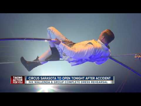 Circus Sarasota to open tonight after accident