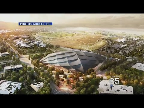 Mountain View Approves New Google Headquarters