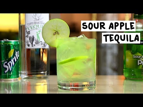 Sour Apple Tequila