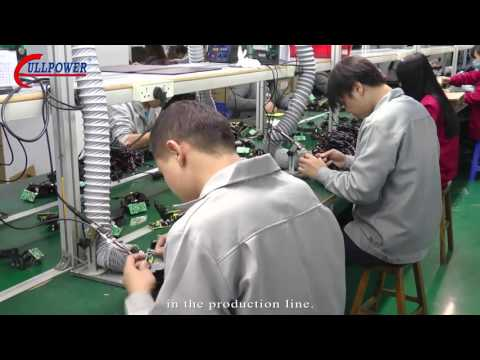 Industry 4.0 , Automatically factory for power adapter and charger