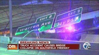 Complete coverage: Southfield Freeway bridge collapse