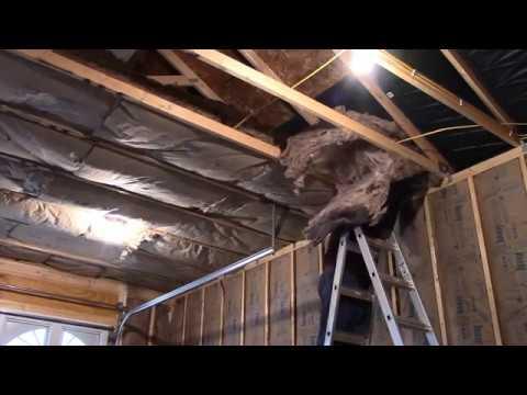 Garage Insulation Complete & Garage Insulation Complete - YouTube