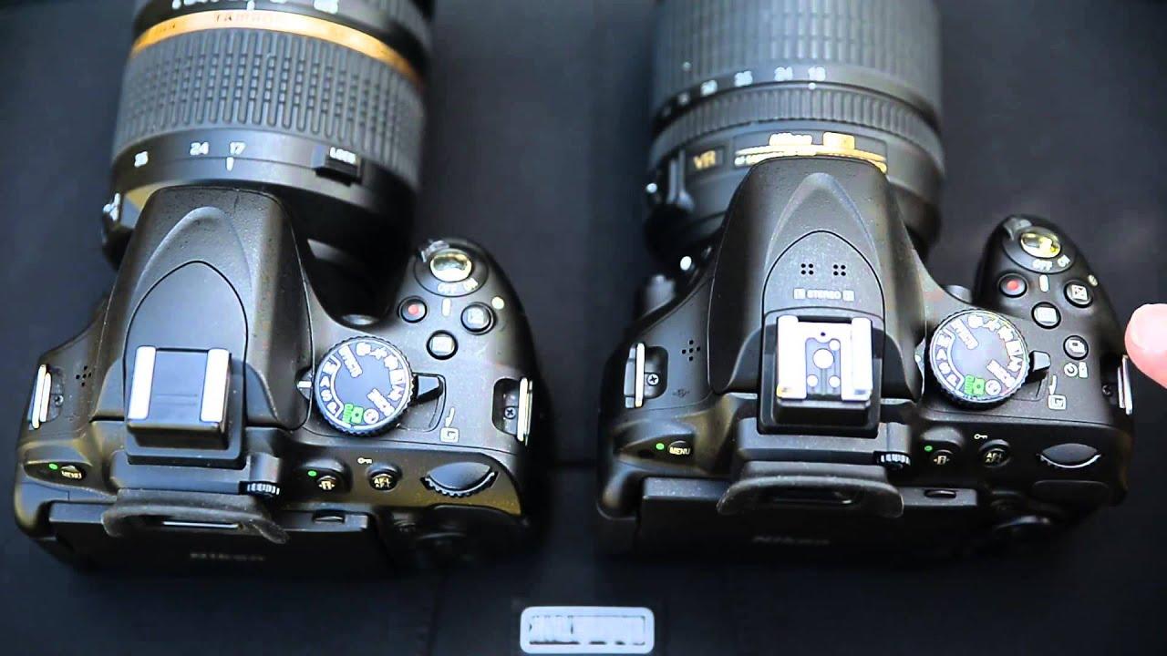Nikon D5100 vs D5200 - Difference and Comparison | Diffen