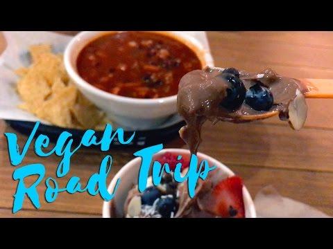 Eating Vegan in Oceanside & San Clemente: Roadtrip VLOG
