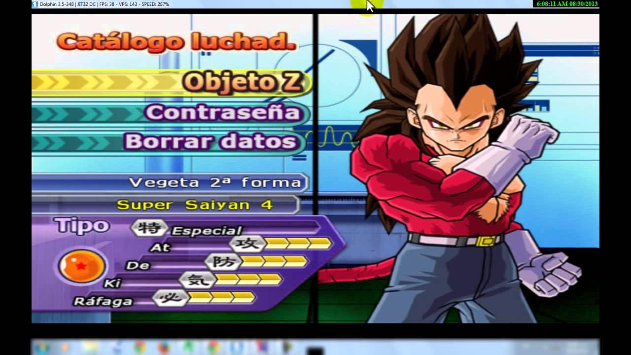 Dragon Ball Z Budokai Tenkaichi 3 Codigos Para Personajes