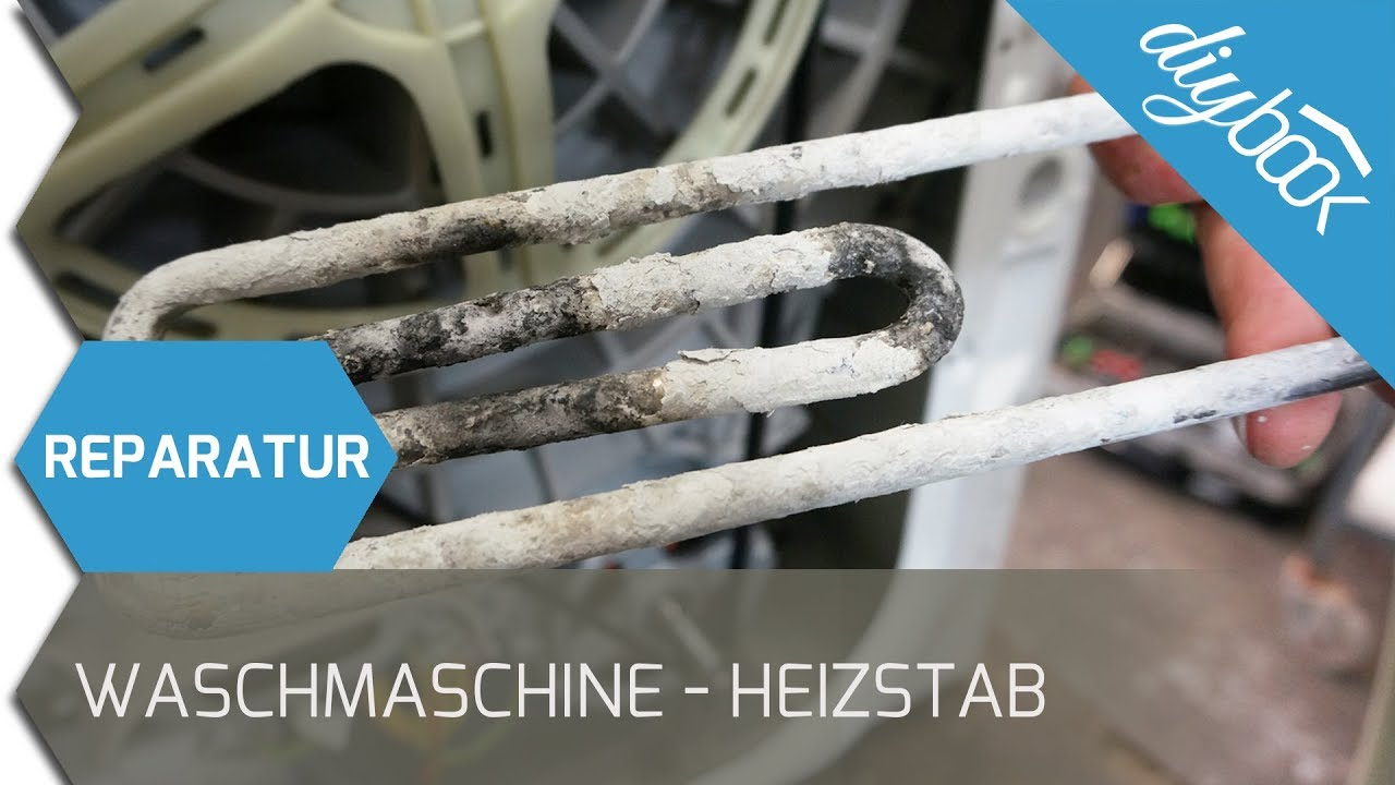 Aeg waschmaschine heizstab ausbauen und wechseln youtube