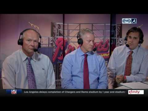 Chip Caray, Tom Glavine and Joe Simpson on Julio Teheran's struggles at SunTrust Park